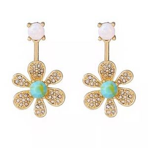 Betsey Crystal Flower Drops